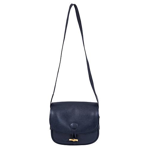 Hermès Navy Epsom Shoulder Bag