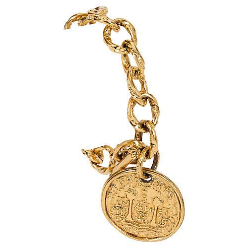 Chanel Oversize Coin Bracelet