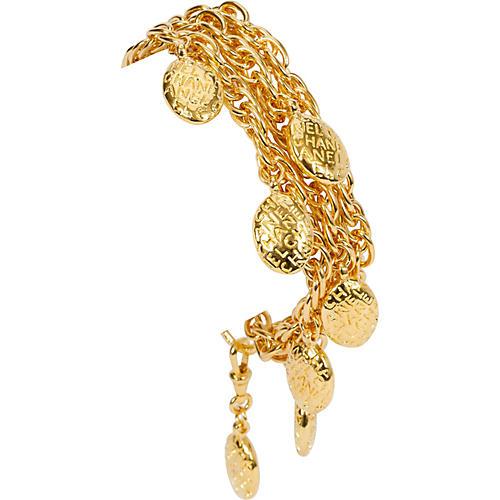 Chanel Triple Nuggets Chain Bracelet