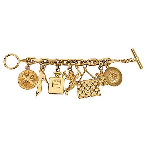 Chanel Icons Charm Bracelet
