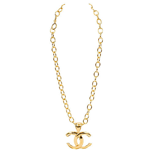Chanel Oversize Pendant Necklace