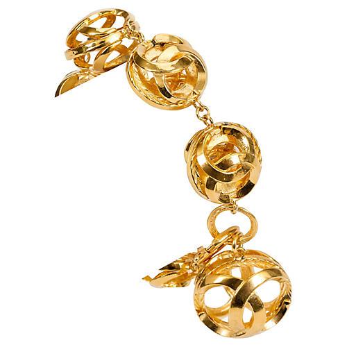 1970s Chanel Sphere Bracelet