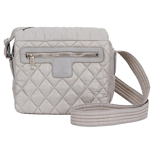 Chanel Light Gray Cocoon Crossbody Bag