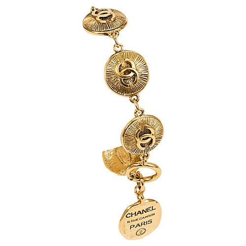 Chanel Coin Bracelet