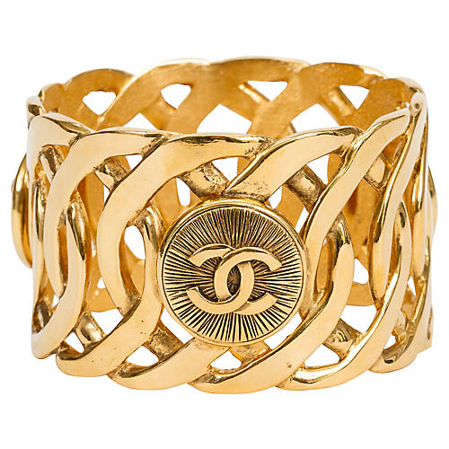 Chanel Oversize Coin Bangle