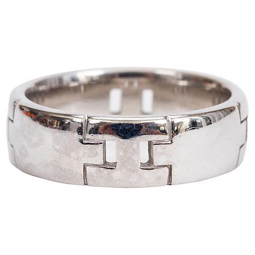 Hermès 18K White Gold Ring
