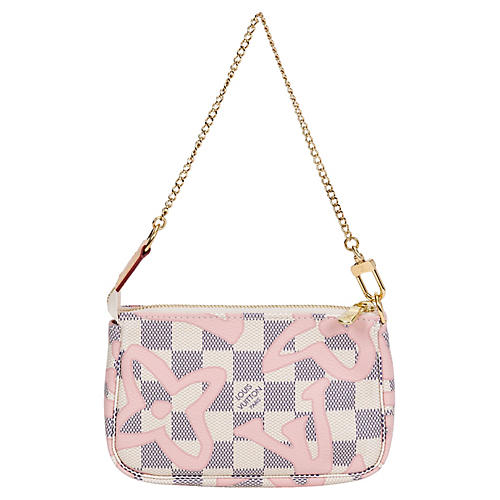 Louis Vuitton Damier Tahiti Pochette Bag