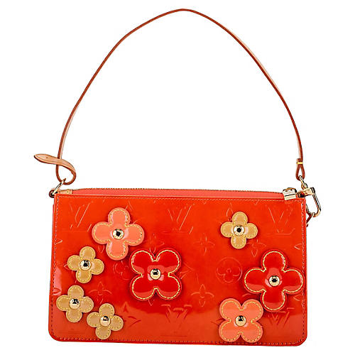Louis Vuitton Orange Flowers Pochette