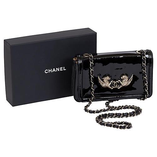 Chanel Paris Venise Lions Patent Bag