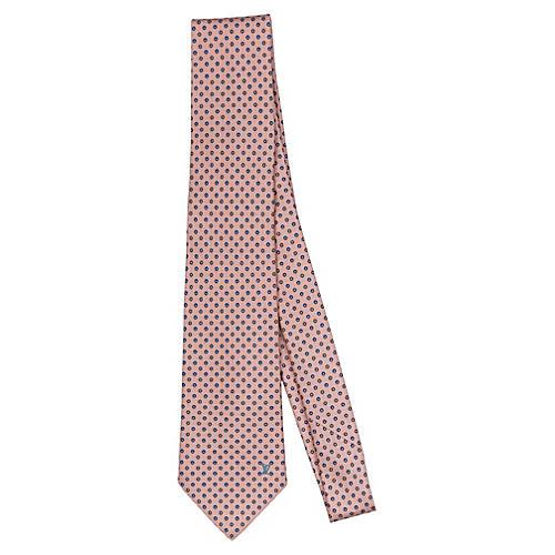 Louis Vuitton Pink Silk Tie
