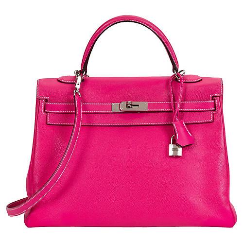 Hermès 35cm Candy Kelly Retourne