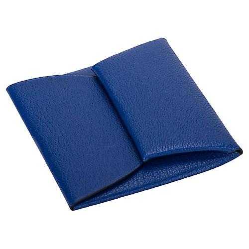 Hermès Blue Electrique Coin Wallet