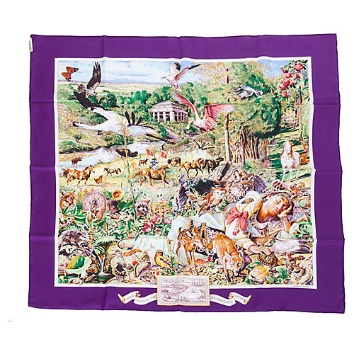 Hermès Limited Edition Madison Ave Scarf