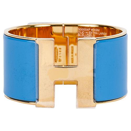 Hermès Blue Cielo Mega Bracelet