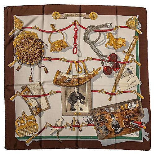Silk Memoire d'Hermès Scarf