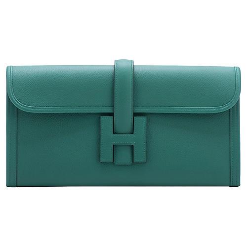Hermès Vert Vertigo Jige Elan