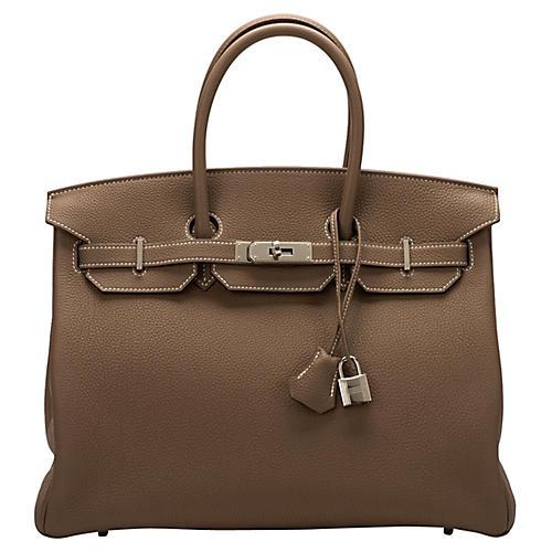 Hermès 35cm Etoupe Togo Birkin