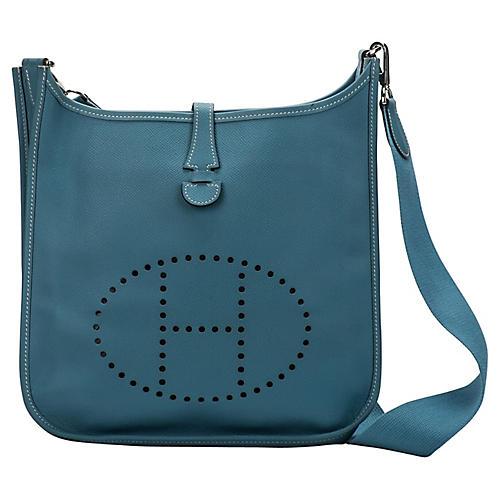 Hermès Blue Jean Evelyne PM
