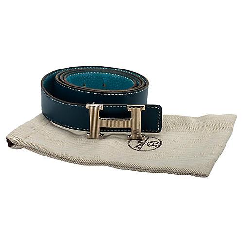 Hermès Blue Jean/Tallahasa H Belt