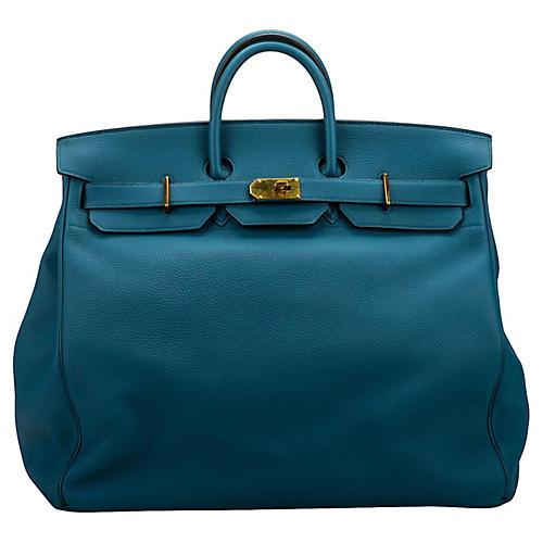 Hermes Birkin Hac 50 Blue Cobalt