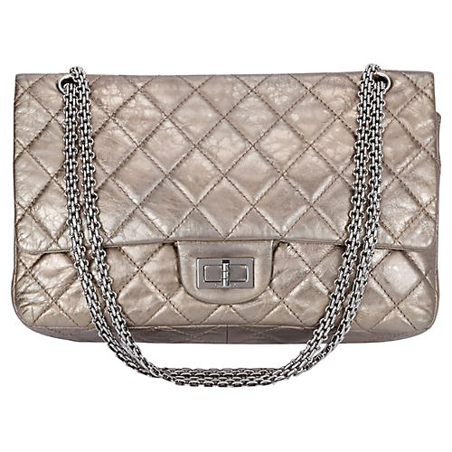 Chanel Reissue Metallic Jumbo Flap Bag