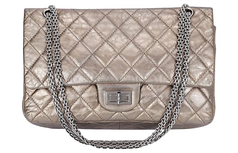 Chanel Reissue Metallic Jumbo Flap Bag