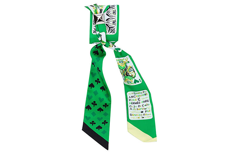 Hermès Emerald Jeu de Cartes Twilly