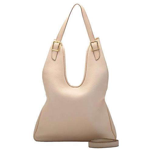 Hermès Cream Masai Shoulder Bag