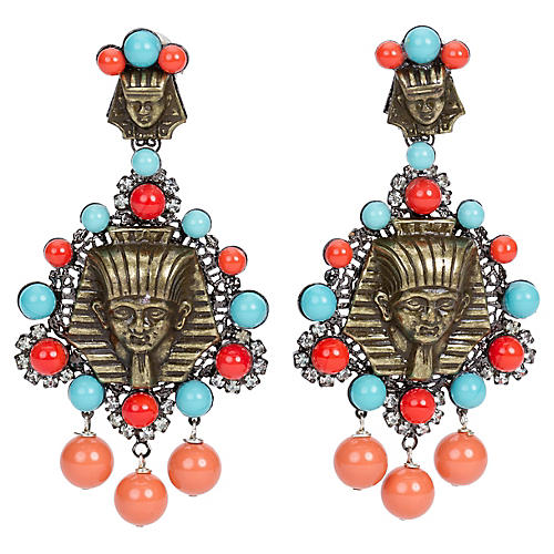 Vrba Egyptian Earrings