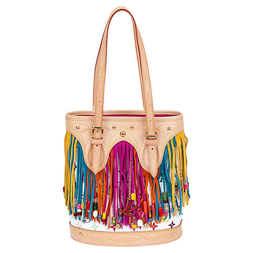 Louis Vuitton Fringe Bucket Bag