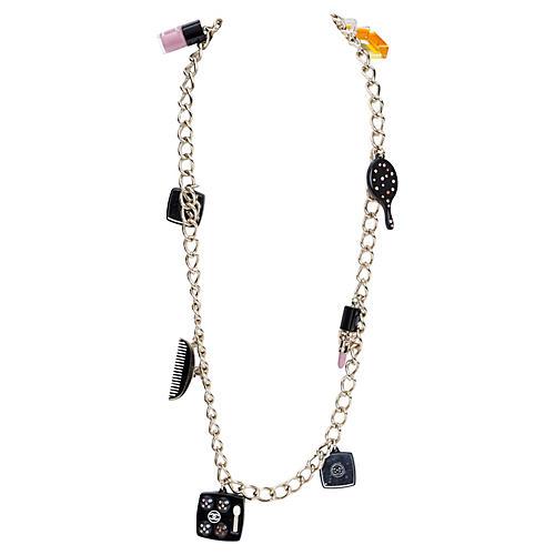 Chanel Lim. Ed. Makeup Necklace/Belt