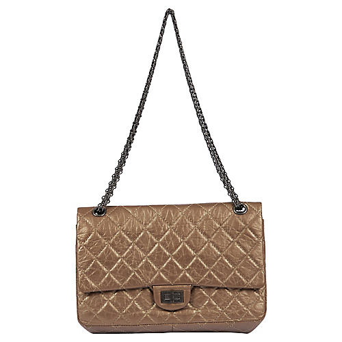Chanel Medium Bronze Reissue Double Flap