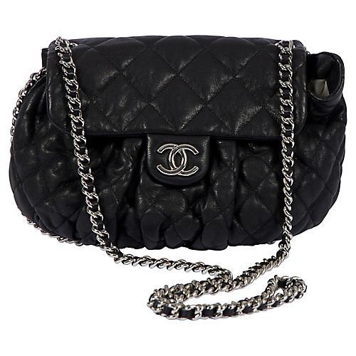 Chanel Medium Black Chain-Around Bag