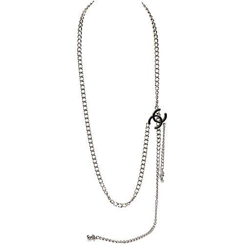 Chanel Silver Belt/Necklace