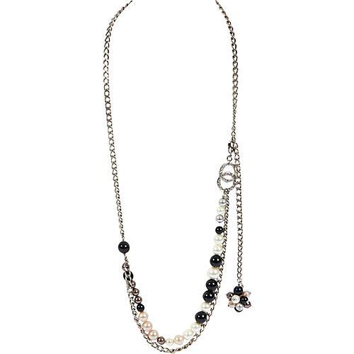 Chanel Black & White Belt/Necklace