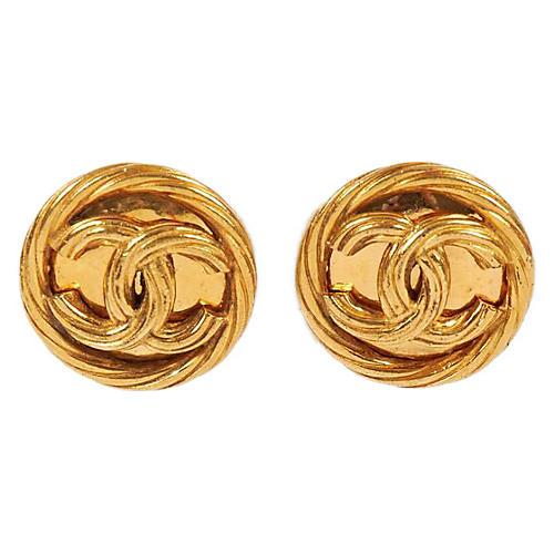 Chanel Rope Earrings
