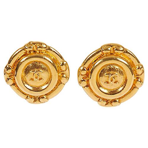 1970s Chanel Clip Earrings
