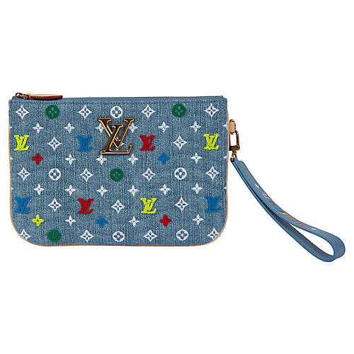 Louis Vuitton Denim Pouchette