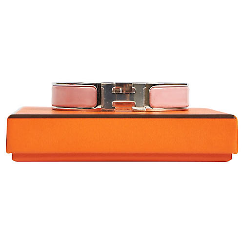 Hermès Rose Clic Clac SM Bracelet