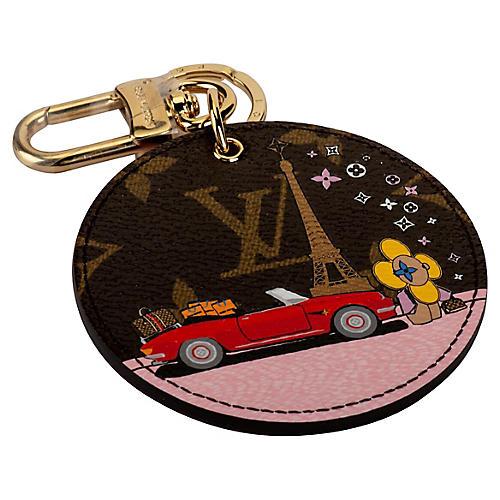 Louis Vuitton Paris Keychain