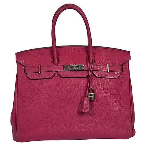 Hermès Tosca Clemence 35cm Birkin