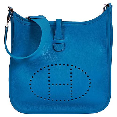 Hermès Blue Zellige PM Evelyne
