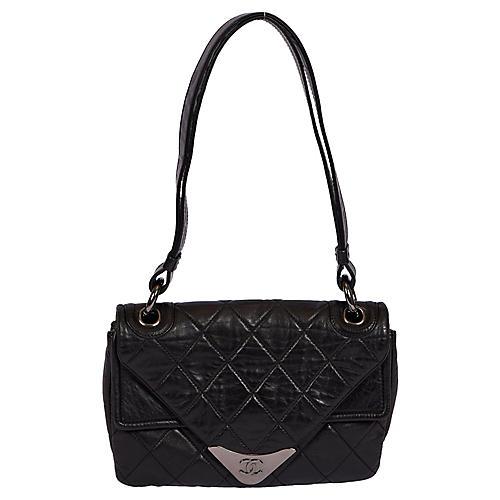 Chanel Black Envelope Shoulder Bag