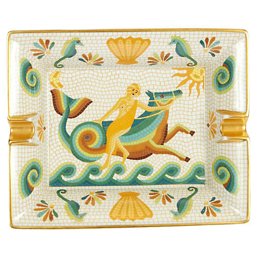 Hermès Mythologic Porcelain Ashtray