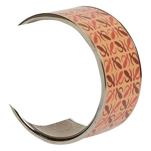 LoeweEnamel Wide Bagnle Bracelet