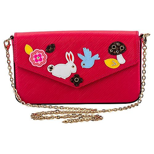 Louis Vuitton Easter Pink Felicie