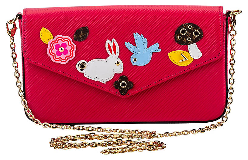 Louis Vuitton Easter Pink Felicie