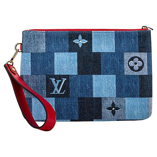 Louis Vuitton Denim Pochette