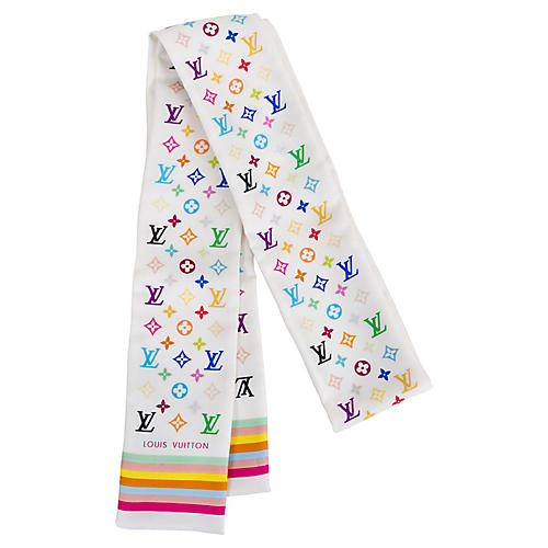 Louis Vuitton Murakami Twilly Scarf
