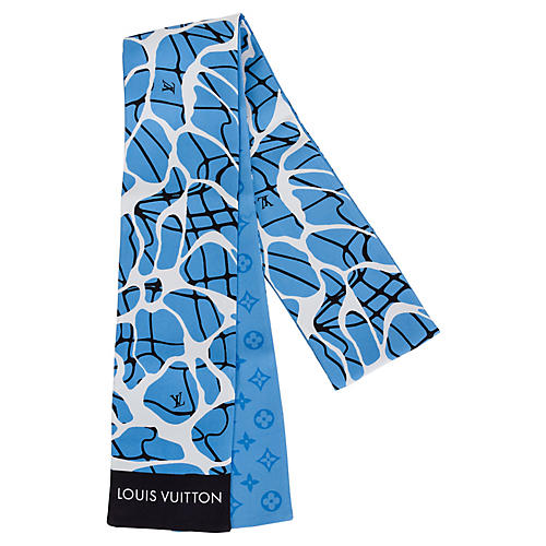 Louis Vuitton Giraffe Silk Twill Scarf